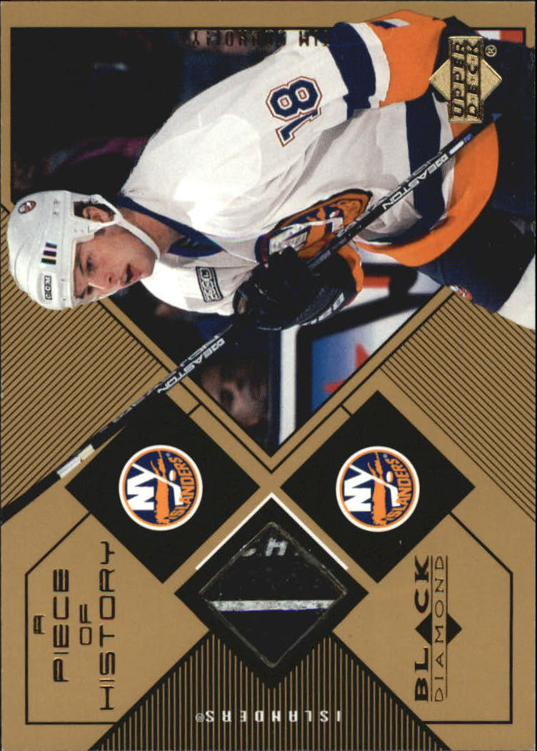 1999-00 Black Diamond A Piece of History #TC Tim Connolly