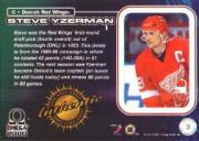 1999-00 Pacific Omega Game-Used Jerseys #3 Steve Yzerman back image