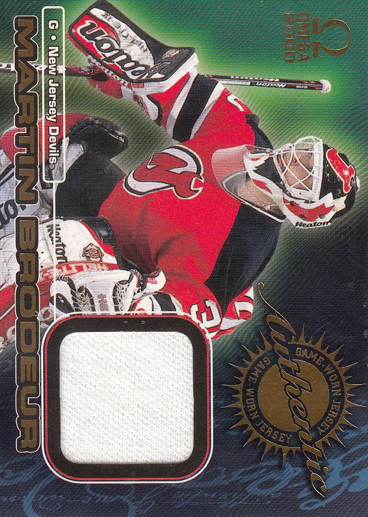 1999-00 Pacific Omega Game-Used Jerseys #4 Martin Brodeur