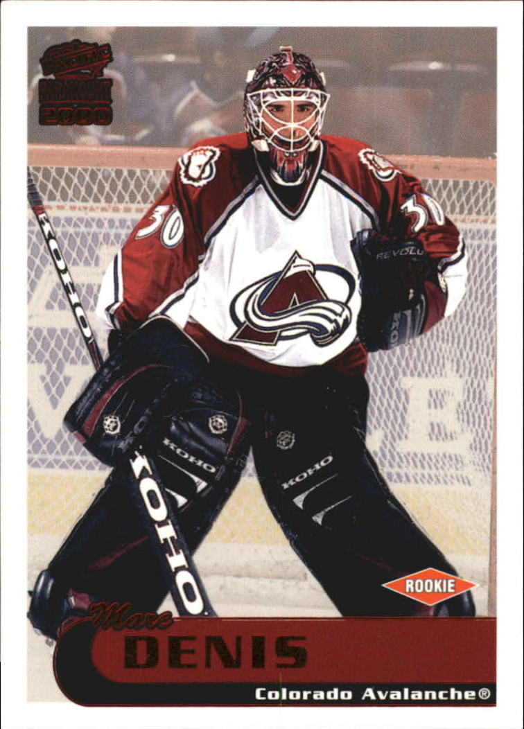 1999-00 Paramount Red #61 Marc Denis