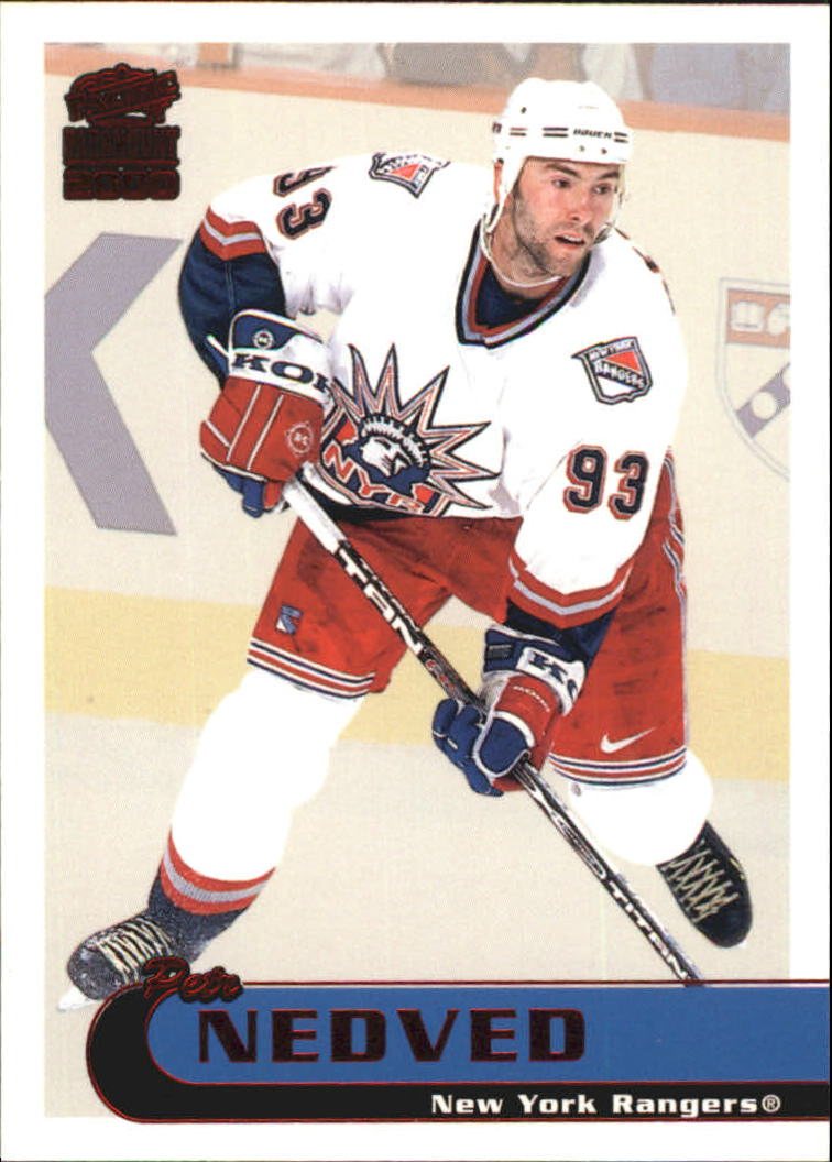 1999-00 Paramount Red #155 Petr Nedved