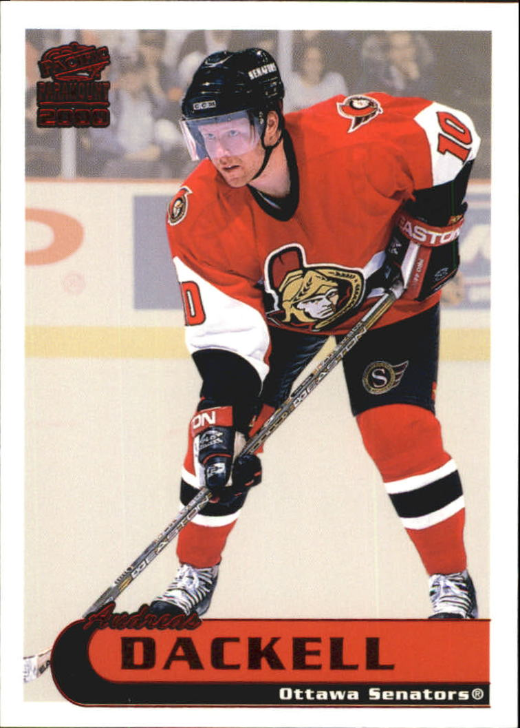 1999-00 Paramount Red #161 Andreas Dackell