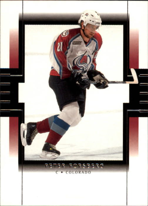 1999-00 SP Authentic #26 Peter Forsberg