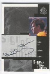 1999-00 SP Authentic Sign of the Times #BO Bobby Orr