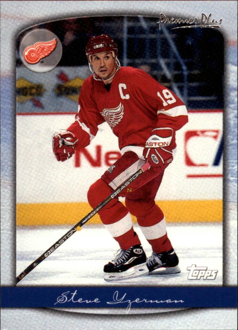 1999-00 Topps Premier Plus #4 Steve Yzerman