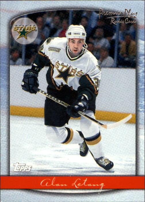 1999-00 Topps Premier Plus #89 Alan Letang RC