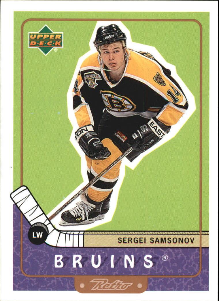 1999-00 Upper Deck Retro #5 Sergei Samsonov