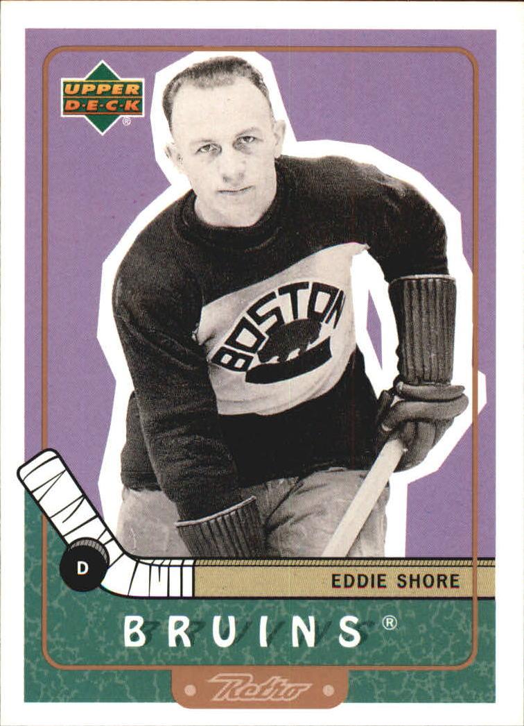 1999-00 Upper Deck Retro #88 Eddie Shore