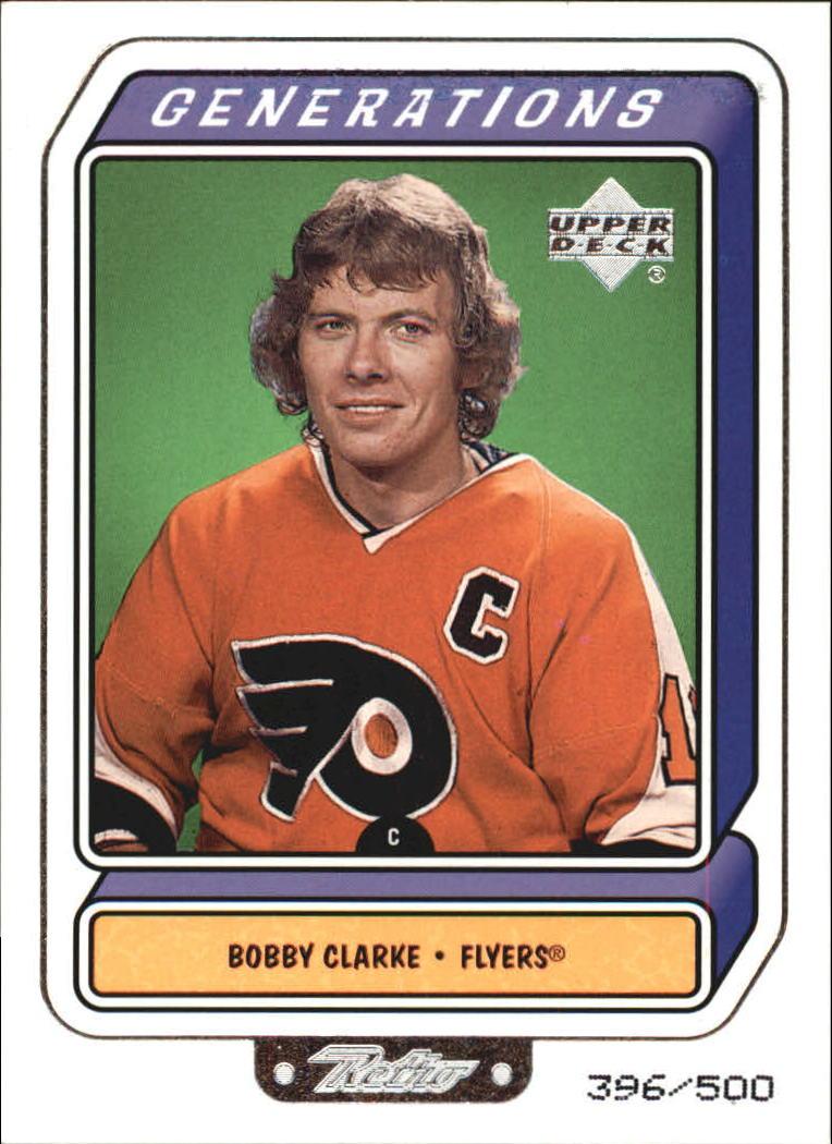 1999-00 Upper Deck Retro Generation Level 2 #G2B Bobby Clarke