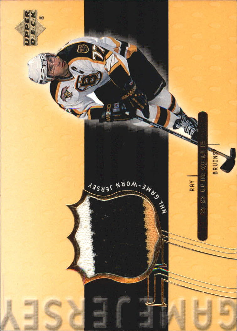 1999-00 Upper Deck Game Jerseys #RB Ray Bourque