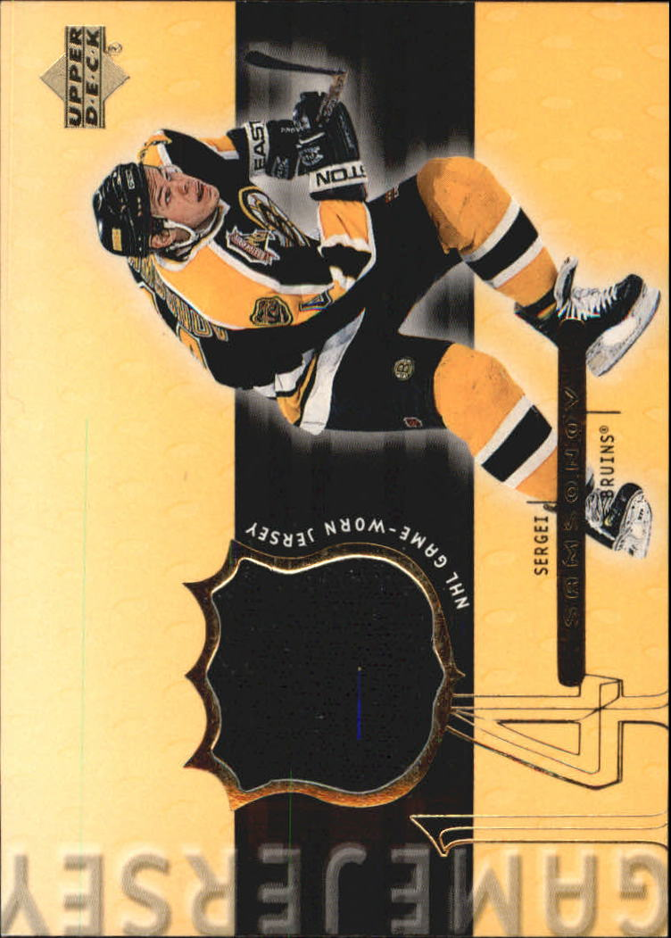 1999-00 Upper Deck Game Jerseys #SS Sergei Samsonov