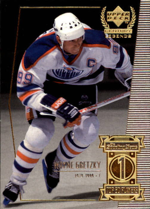 1999-00 Upper Deck Century Legends #1 Wayne Gretzky