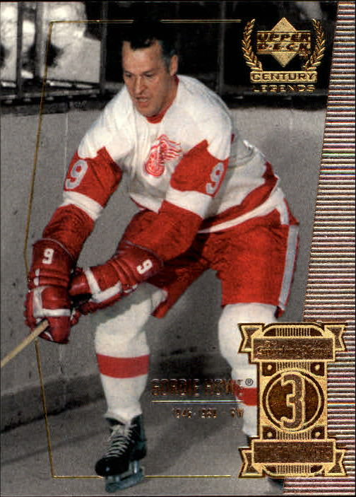 1999-00 Upper Deck Century Legends #3 Gordie Howe