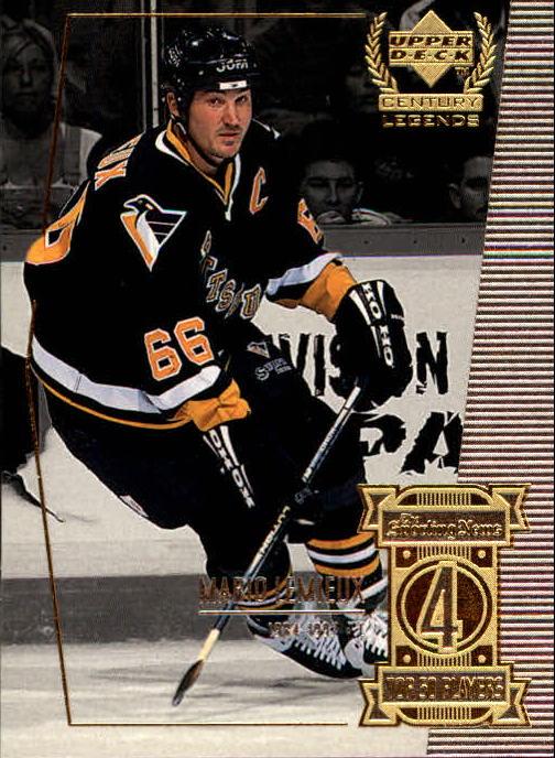 1999-00 Upper Deck Century Legends #4 Mario Lemieux