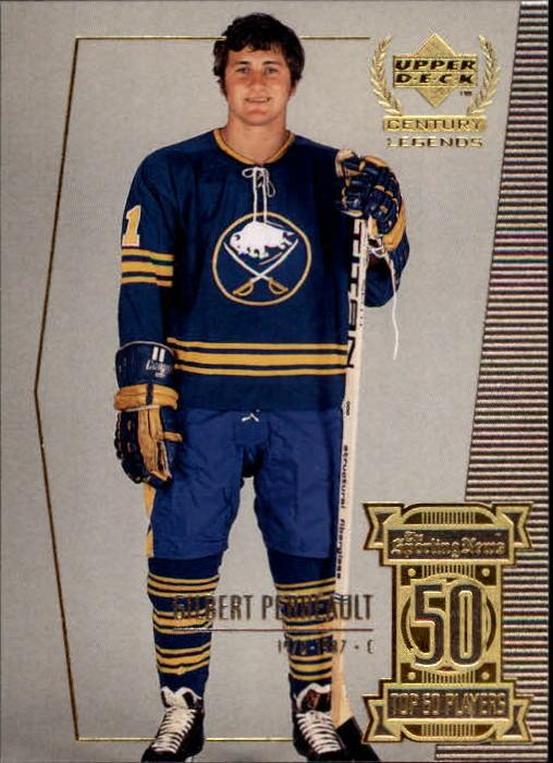 1999-00 Upper Deck Century Legends #50 Gilbert Perreault
