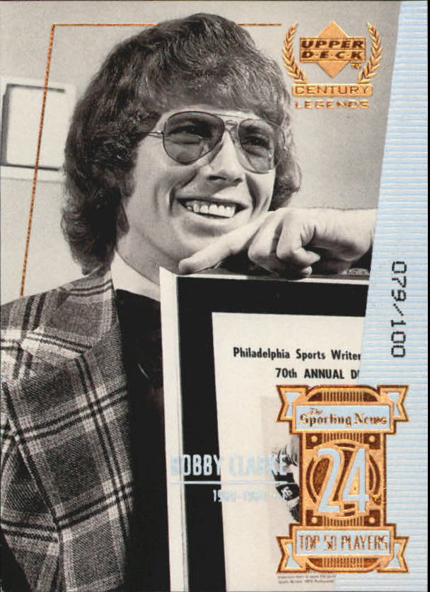 1999-00 Upper Deck Century Legends Century Collection #24 Bobby Clarke