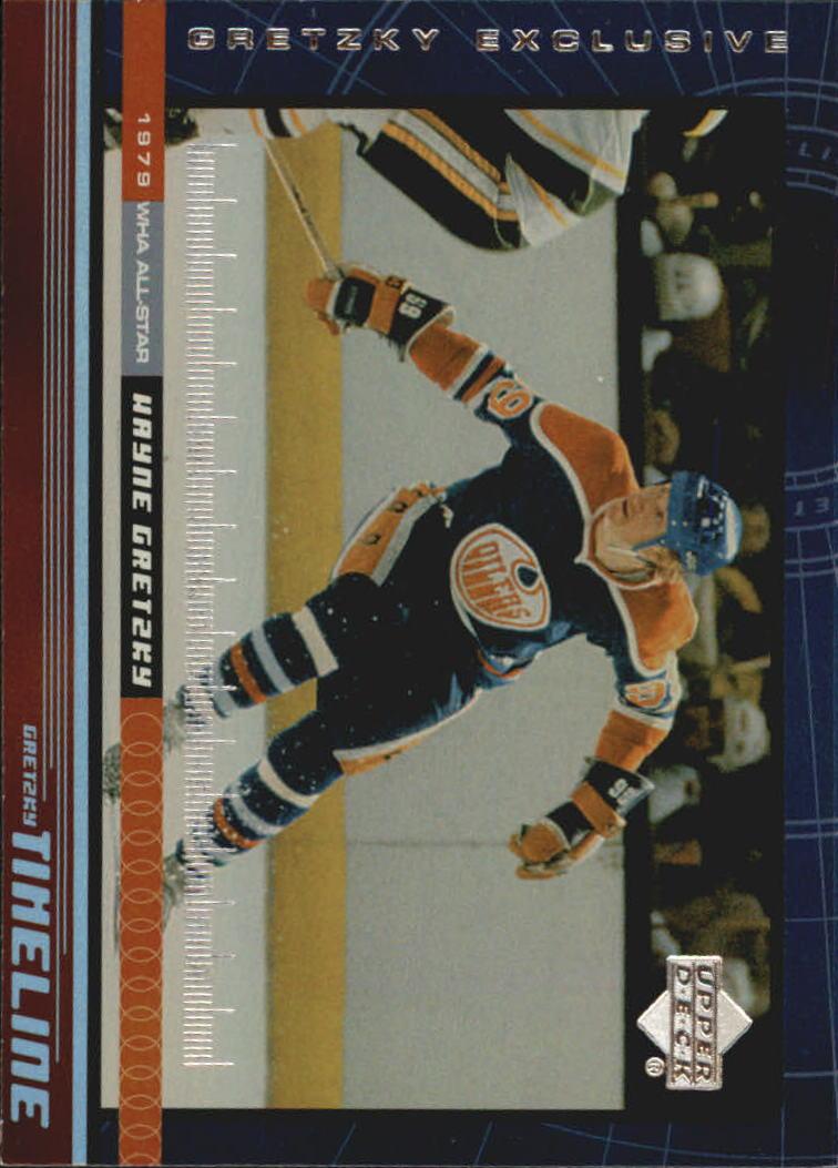 1999-00 Upper Deck Gretzky Exclusives #5 Wayne Gretzky