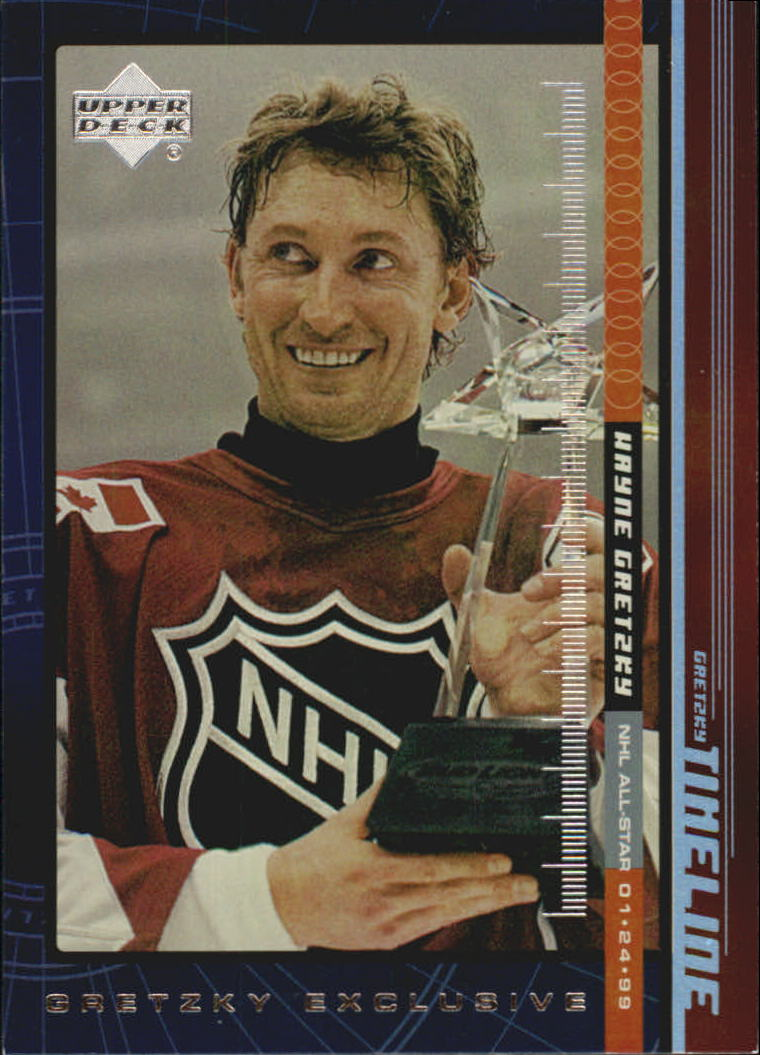 1999-00 Upper Deck Gretzky Exclusives #28 Wayne Gretzky
