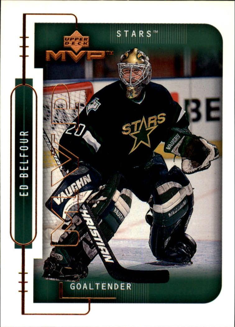 1999-00 Upper Deck MVP #62 Ed Belfour