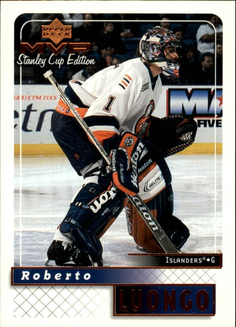 1999-00 Upper Deck MVP SC Edition #112 Roberto Luongo
