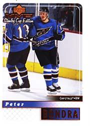 1999-00 Upper Deck MVP SC Edition #188 Peter Bondra
