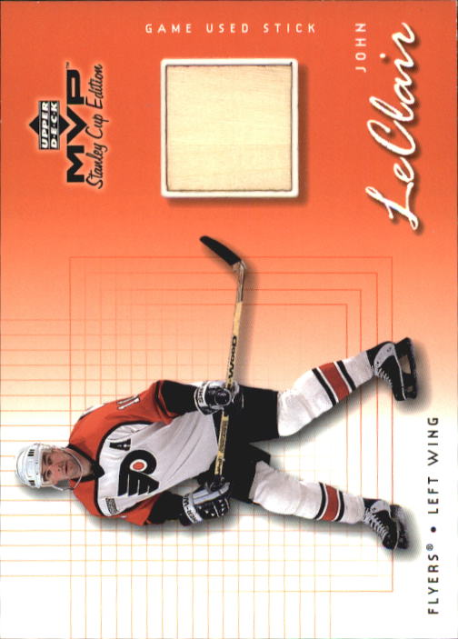 1999-00 Upper Deck MVP SC Edition Game-Used Souvenirs #GUJC John LeClair