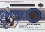 1999-00 Upper Deck Ovation A Piece Of History #CJ Curtis Joseph