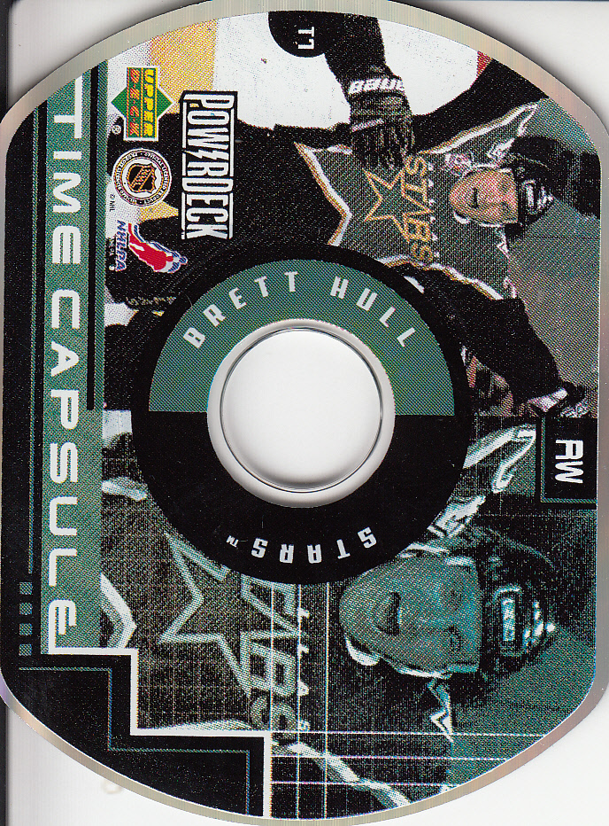 1999-00 Upper Deck PowerDeck Time Capsule #T7 Brett Hull