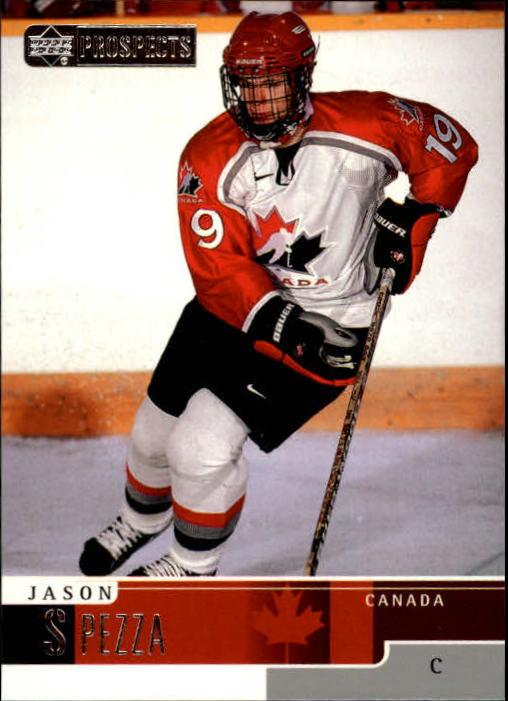 1999-00 UD Prospects #81 Jason Spezza