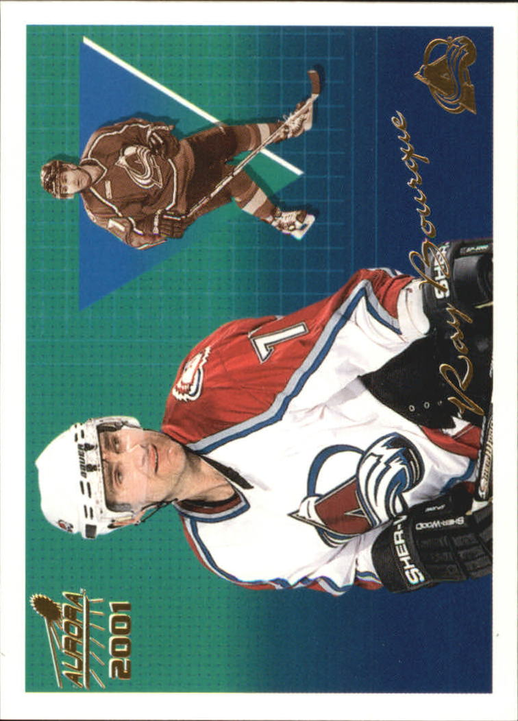 2000-01 Aurora #36 Ray Bourque