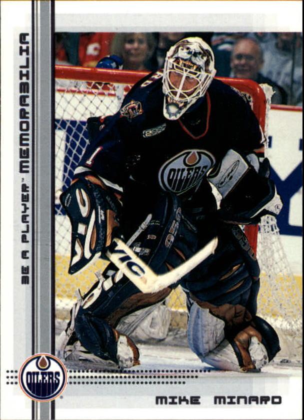2000-01 BAP Memorabilia #21 Mike Minard RC