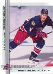 2000-01 BAP Memorabilia #420 Rostislav Klesla RC
