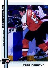 2000-01 BAP Memorabilia #469 Todd Fedoruk RC