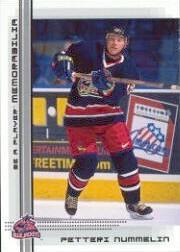 2000-01 BAP Memorabilia #476 Petteri Nummelin RC