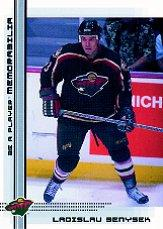 2000-01 BAP Memorabilia #481 Ladislav Benysek RC