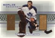 2000-01 BAP Memorabilia Goalie Memorabilia #G6 Terry Sawchuk G/S
