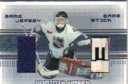 2000-01 BAP Memorabilia Jersey and Stick #JS13 Dominik Hasek