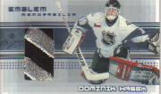 2000-01 BAP Memorabilia Jersey Emblems #E13 Dominik Hasek