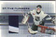 2000-01 BAP Memorabilia Jersey Numbers #N13 Dominik Hasek