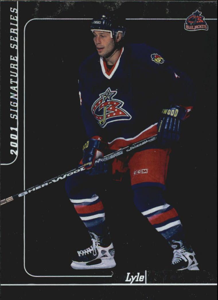 2000-01 BAP Signature Series #159 Lyle Odelein