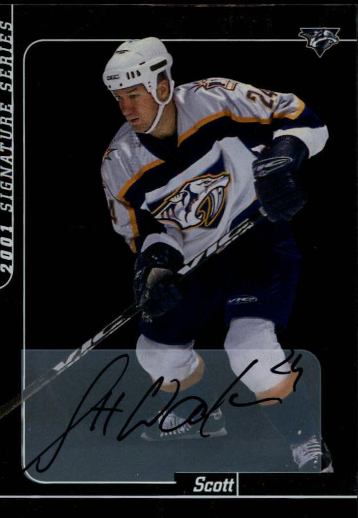 2000-01 BAP Signature Series Autographs #43 Scott Walker