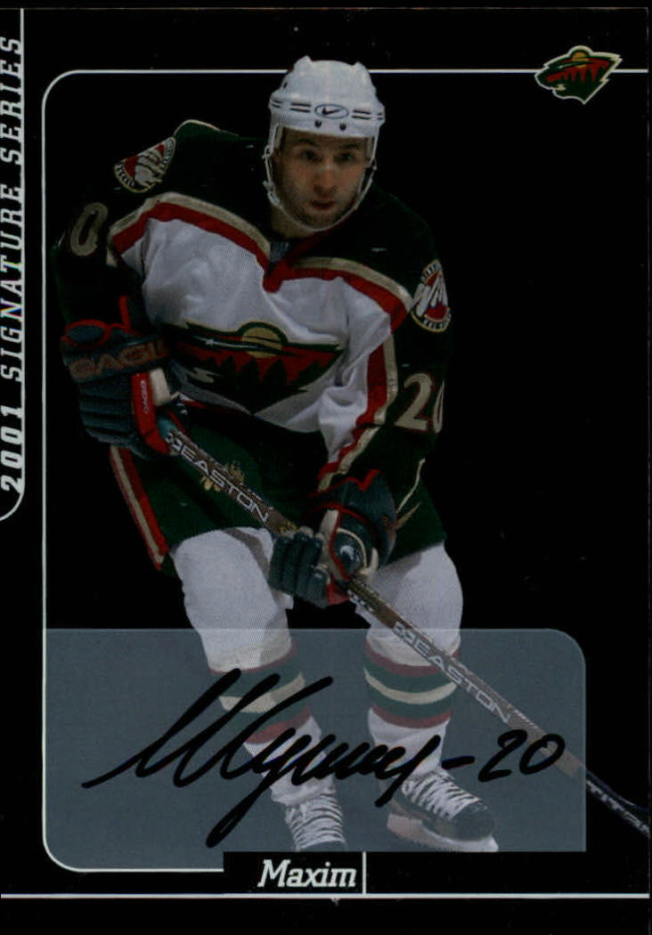 2000-01 BAP Signature Series Autographs #235 Maxim Sushinski