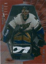 2000-01 BAP Ultimate Memorabilia Game-Used Sticks #GS43 Olaf Kolzig