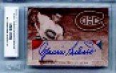 2000-01 BAP Ultimate Memorabilia Maurice Richard Autographs #R1 Maurice Richard