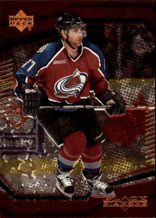 2000-01 Black Diamond #15 Ray Bourque