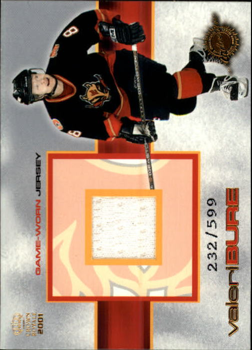 2000-01 Crown Royale Game-Worn Jerseys #2 Valeri Bure/599
