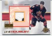 2000-01 Crown Royale Game-Worn Jersey Patches #4 Phil Housley/144