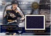 2000-01 Crown Royale Premium-Sized Game-Worn Jerseys #16 Patric Kjellberg/327