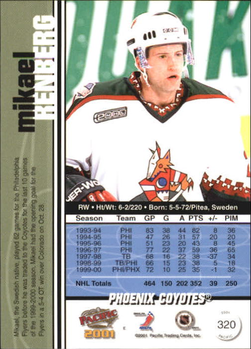 2000-01-Pacific-Hockey-Cards-251-450-Pick-From-List thumbnail 93