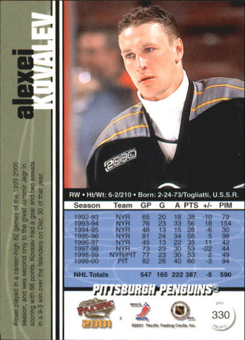 2000-01-Pacific-Hockey-Cards-251-450-Pick-From-List thumbnail 109